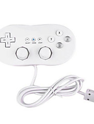 cheap -Wired Game Controller For Wii U / Wii ,  Portable / Novelty Game Controller Metal / ABS 1 pcs unit