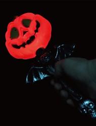 cheap -Single Pumpkin Head LED Phonate Stick for Halloween