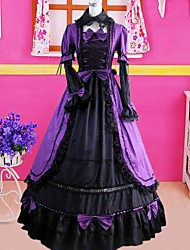 cheap -Gothic Lolita Dress Dress Cosplay Long Sleeve Long Length Costumes