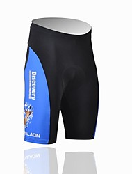 cheap -ILPALADINO Men's Cycling Padded Shorts Bike Shorts Padded Shorts / Chamois Pants Breathable Ultraviolet Resistant Sports Polyester Lycra Black Road Bike Cycling Clothing Apparel Relaxed Fit Bike Wear
