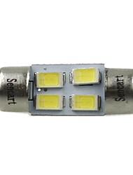 Недорогие -31mm Автомобиль Лампы 2W SMD 5730 120-160lm 4 Светодиодная лампа Внутреннее освещение For Универсальный