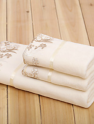 Недорогие -Высшее качество Набор банных полотенец, Однотонный 100%микро волокно Ванная комната