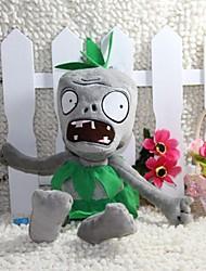 cheap -Allhallowmas Plants Vs Zombies Grass Skirt Zombie Plush Toy Size 28CM
