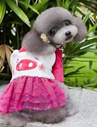 cheap -Cat Dog Dress Winter Dog Clothes Costume Polar Fleece Cosplay Wedding XS S M L XL