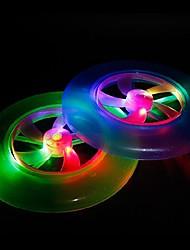 cheap -LED Color Change UFO Shaped Light Halloween Props (Random Color)