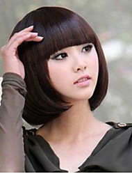 cheap -Synthetic Wig Straight Style Wig Black Dark Brown Blonde Synthetic Hair Women's Wig
