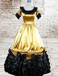 cheap -Gothic Lolita Dress Dress Cosplay Short Sleeve Long Length Costumes