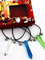 cheap -Jewelry Inspired by Naruto Naruto Uzumaki Anime Cosplay Accessories Necklace Men's Hot Halloween Costumes