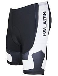 cheap -ILPALADINO Men's Cycling Padded Shorts Bike Shorts Padded Shorts / Chamois Pants Breathable Quick Dry Ultraviolet Resistant Sports Polyester Lycra Green / Black / White / Purple Road Bike Cycling