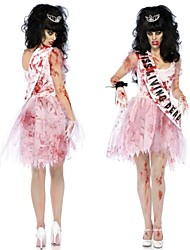 cheap -Zombie Cosplay Costume Women's Halloween Festival / Holiday Chiffon Terylene Women's Carnival Costumes