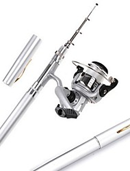 cheap -Fishing Rod and Reel Combo Pen Rod 100 cm Ultra Light (UL) Spinning
