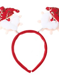 cheap -White & Red & Orange Christmas Decorations Head Buckle