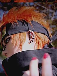 cheap -Naruto Cosplay Cosplay Wigs Men's 14 inch Heat Resistant Fiber Orange Anime