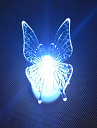 cheap -LED Color Change Transparent Butterfly Shaped Mini Light Christmas Props