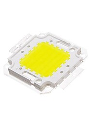 cheap -DIY 50W 4500-5500LM  White 6000-6500K  Light Integrated LED Module (33-35V) Street Lamp for Projecting Light Gold Wire Welding of Copper Bracket