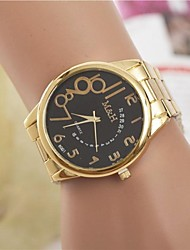 cheap -Women's Fashion Watch Gold Watch Analog Quartz Ladies / One Year