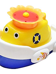 cheap -Boat Shape Auto Spray Water Splash for Baby Bath Float Toys