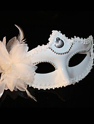 cheap -Snow White Half Mask for Masquerade Party