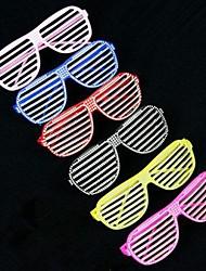 Недорогие -взрослые пластиковые жалюзи партия Glassess