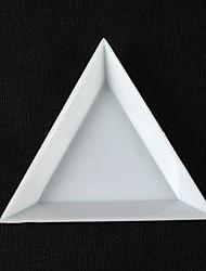 cheap -1pcs triangular nail art kit storage box