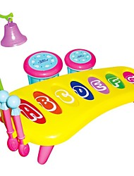 cheap -Cartoon Knock Piano Combination Intelligent Baby Children Toys Noisemaker Toys Baby Plastic Educational Toys