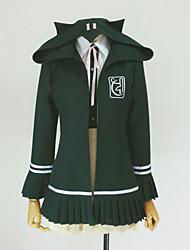 cheap -Inspired by Dangan Ronpa Chiaki Nanami Video Game Cosplay Costumes Cosplay Hoodies Solid Colored Long Sleeve Cravat Coat Shirt Costumes