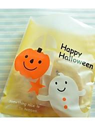 Недорогие -5 штук Хэллоуин милый призрак давно тыквы подарок мешок