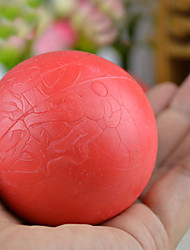 Недорогие -средний обучение размер красный канат резиновые надувные мяч