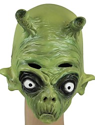 cheap -JOIN NEW ® Latex Green Alien Ghost Head Mask Halloween Party Prop