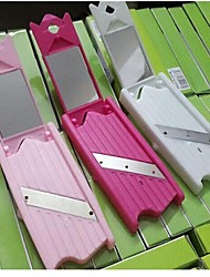 cheap -Plastic Cutter & Slicer Creative Kitchen Gadget Kitchen Utensils Tools Vegetable 1pc