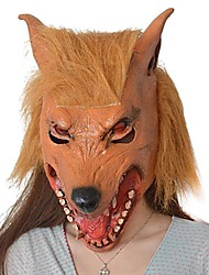 cheap -JOIN NEW ® Latex Horrible Wolf Head Mask Halloween Party Prop