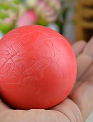 Недорогие -большая подготовка размер красный канат резиновые надувные мяч