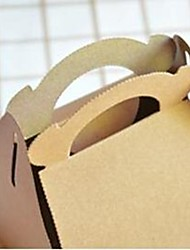 cheap -Fashion Portable Cookies Brown Paper Box(1pc)