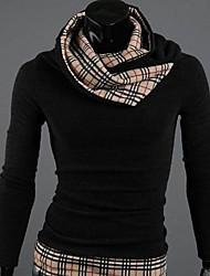 cheap -KissTies®Men's Knit Fashion Slim Stripes Sweater