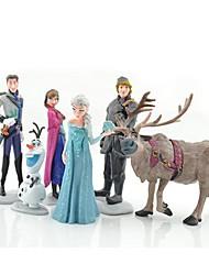 cheap -Olaf Snowman Ann Elas Princess Toys Dolls (6pcs / lot)