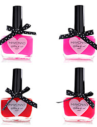 cheap -1PCS Maychao Candy Color Nail Polish Bowknot Bottle NO.29-32(15ml,Assorted Color)