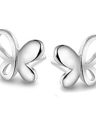 cheap -Women's Stud Earrings Sterling Silver Earrings Jewelry Silver For Wedding Party Daily Casual