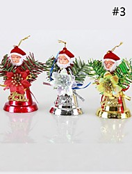 cheap -Old Man Bell Hang Christmas Decorations(Assorted Color)