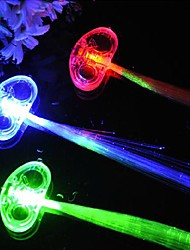 cheap -LED Color Change Luminous Hair Braid for Party Halloween Props