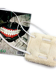 cheap -Mask Inspired by Tokyo Ghoul Cosplay Anime Cosplay Accessories Mask Polar Fleece Men's New Halloween Costumes