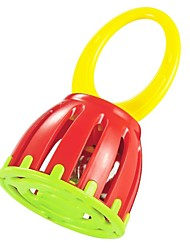 cheap -High Quality ABS Cartoon Baby Handle Cage Bell Baby Ring Bell Toys Handbell Toys Baby Educational Toy