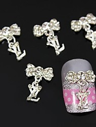 cheap -Metal Nail Jewelry For Finger Toe Other Lovely nail art Manicure Pedicure Fruit / Flower / Abstract Daily / Cartoon