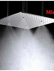 cheap -20 Inch Stainless Steel 304 Ceiling Mounted Bathroom Shower Head With Atomizing And Rainfall Rainfall and Waterfall Dual Functions, Shower Head Only