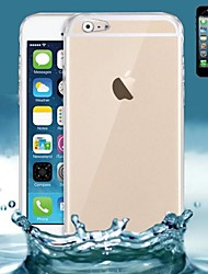 cheap -Case For Apple iPhone 6s Plus / iPhone 6s / iPhone 6 Plus Ultra-thin / Transparent Back Cover Solid Colored Soft Silicone