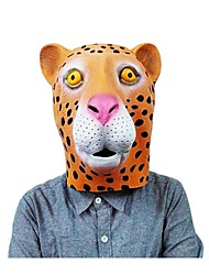 cheap -JOIN NEW ® Latex Leopard Mask Cover Halloween Party Prop