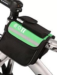 cheap -BOI 8 L Cell Phone Bag Bike Frame Bag Top Tube Bag Reflective Waterproof Bike Bag Polyester Bicycle Bag Cycle Bag iPhone X / iPhone XR / iPhone XS Cycling / Bike