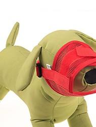 cheap -Cat Dog Muzzle Textile Nylon Purple Red