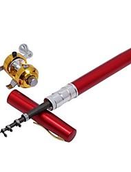 cheap -Mini Rod / Pen Rod Fishing Rod Fishing Rod and Reel Combo Pen Rod 160 cm Ultra Light (UL) Sea Fishing Fly Fishing Bait Casting / Ice Fishing / Freshwater Fishing