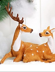 cheap -1PC Celebrate Decoration Gift Christmas Couples Deer Ornaments