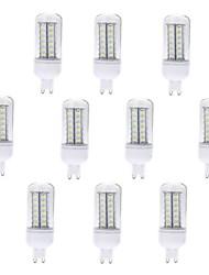 cheap -10 pcs G9 56LED SMD5730 Decorative Corn Lights AC220V White/Warm White